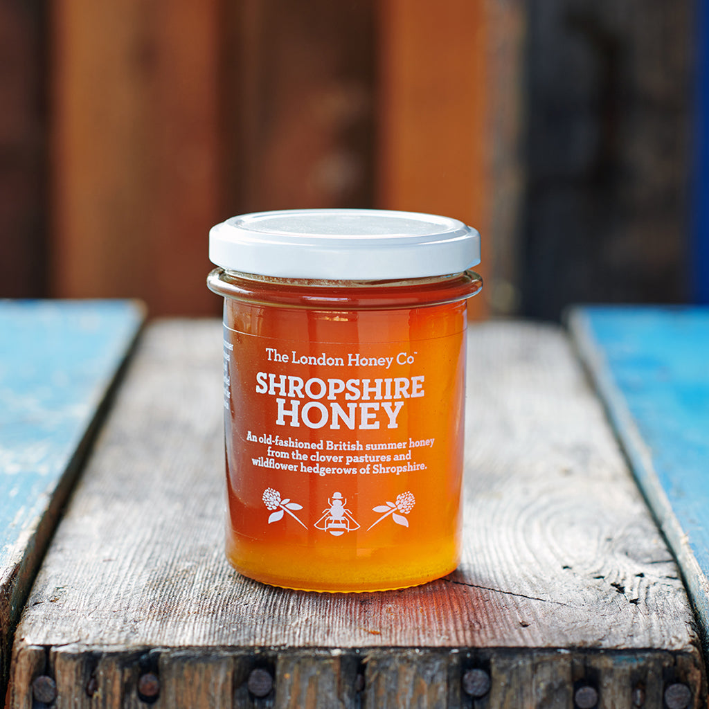 Pure Honey, Shropshire Runny Jar 250g