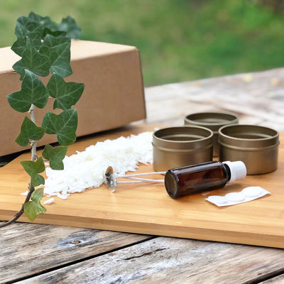 Three Tin Candle Making Kit