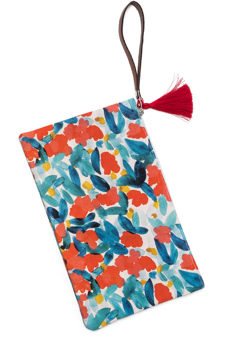 Clutch with Floral print from Olive & Loom