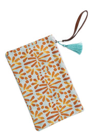 Clutch with Tile print from Olive & Loom