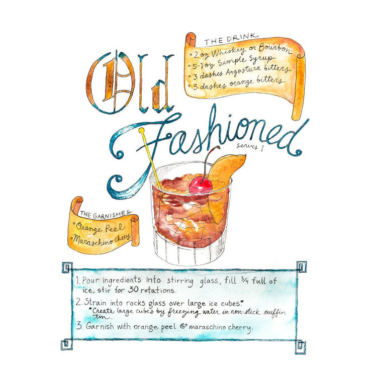 Old Fashioned Art Print by Marcella Kriebel