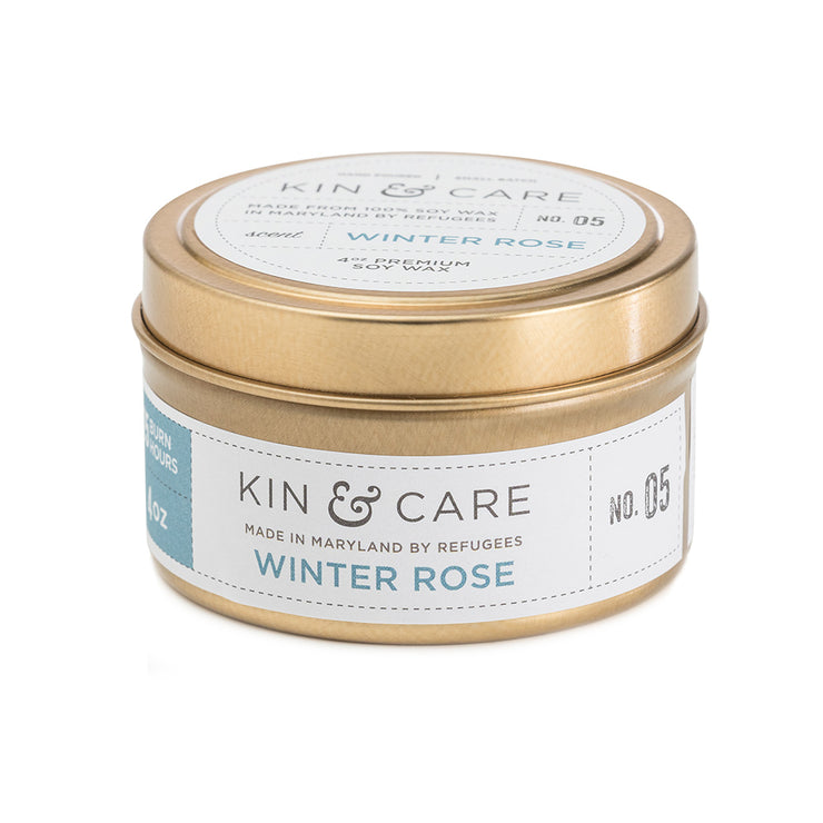 Soy Wax Candle from Kin & Care