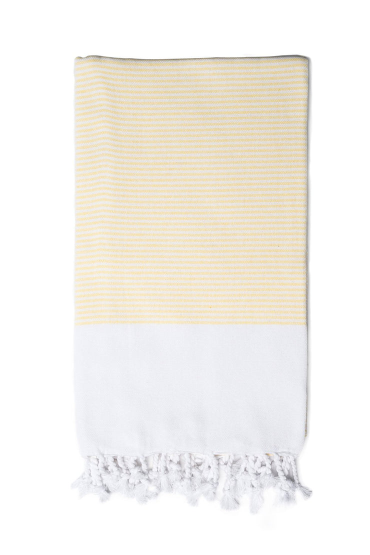 Purple Candy Striped Hand Towel from Olive & Loom