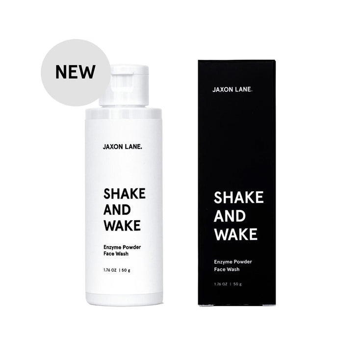 Shake and Wake Face Wash