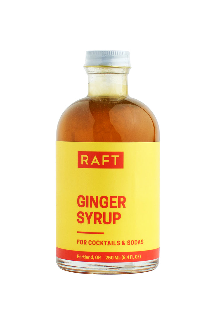 Raft Syrups 8.4 oz Cocktail Syrup - Ginger