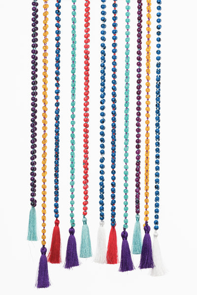 Assorted handmade bead necklaces from Olive & Loom