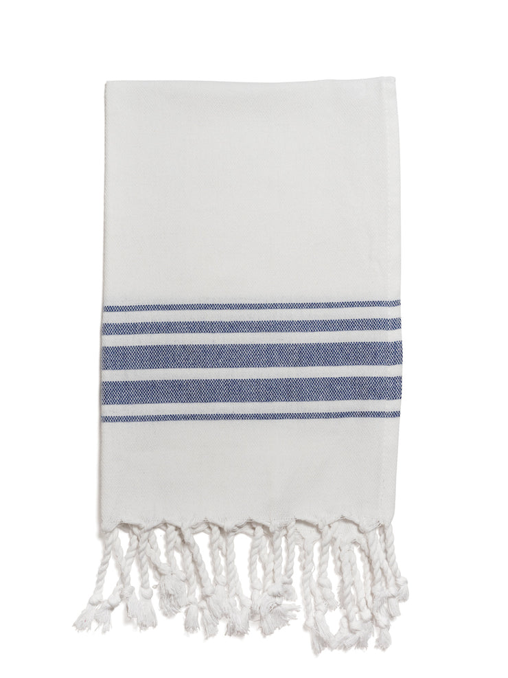 Hampden Towel in Sapphire from Olive & Loom