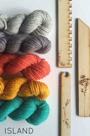 Island Weaving Kit from Black Sheep Goods