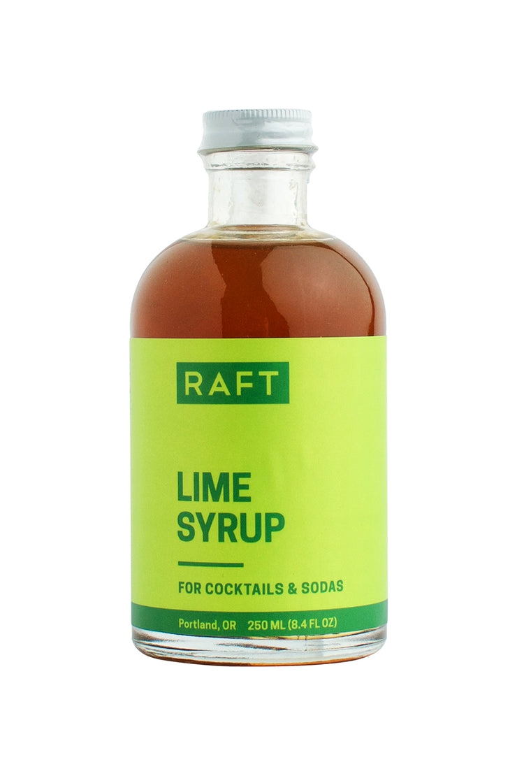 Raft Syrups 8.4 oz Cocktail Syrup - Lime