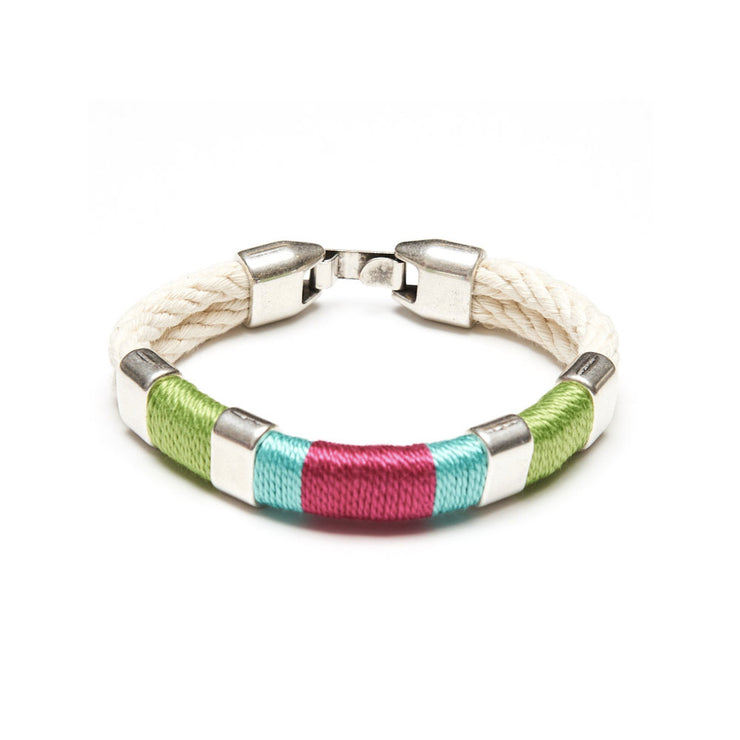Pink/Turquoise Newbury Bracelet from Allison Cole