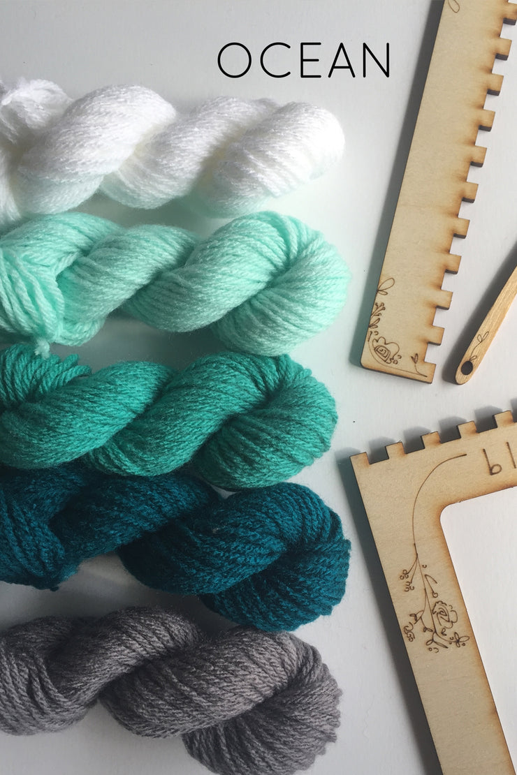 Ocean Weaving Kit from Black Sheep Goods