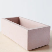 Rectangle Planter from Concrete Days