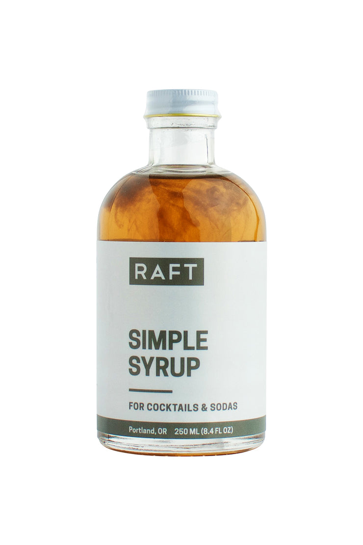 Raft Syrups 8.4 oz Cocktail Syrup - Simple Syrup