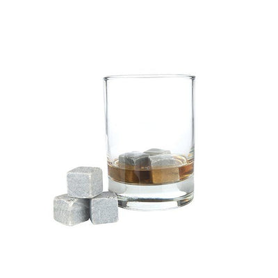 Glacier Rocks Soapstone Cubes - Set of 6