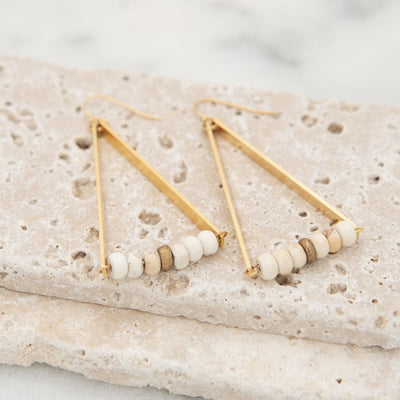 Triad Earrings from Stick + Stone