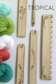 Tropical Weaving Kit from Black Sheep Goods