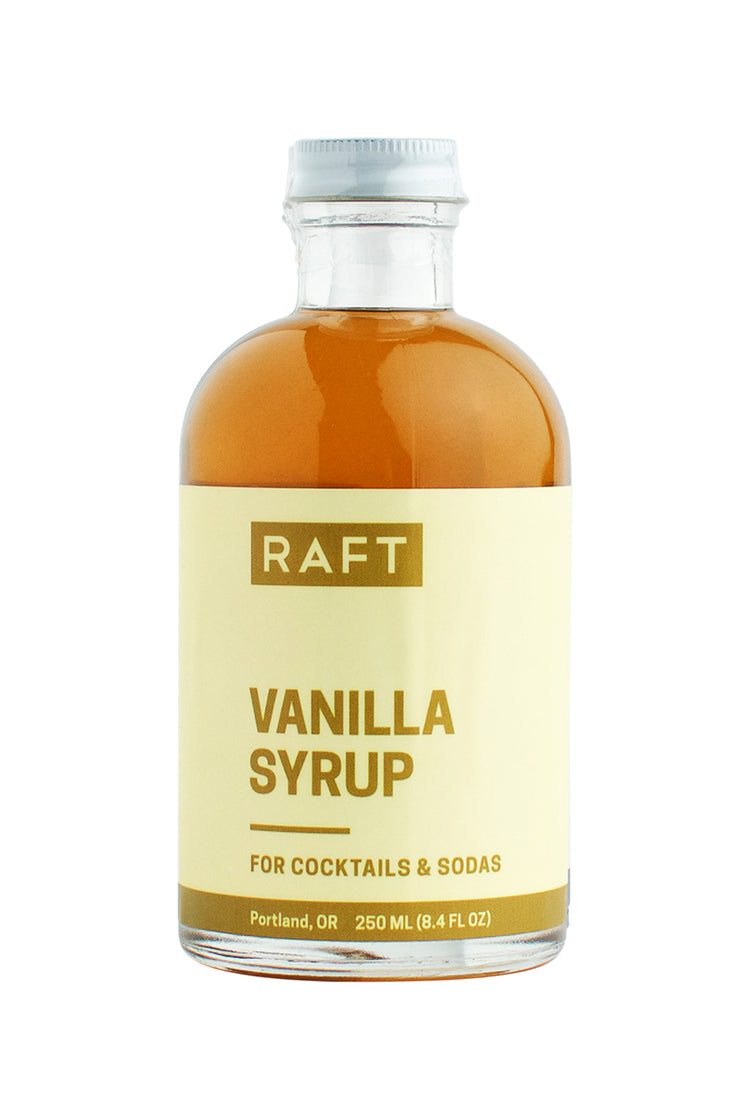 Raft Syrups 8.4 oz Cocktail Syrup - Vanilla