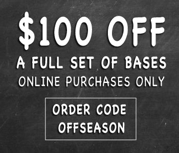 Shop Off Season baseball equipment