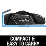Athletico Rolling Baseball Bag