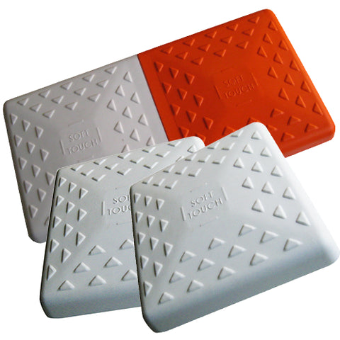 "Soft Touch Set of 15"" Premium bases and 15"" double first base (Covers only)"