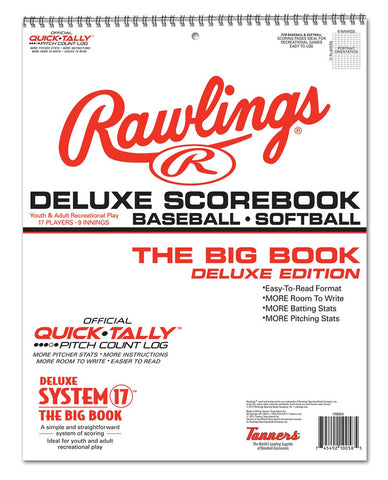 Rawlings Baseball & Softball Scorebook