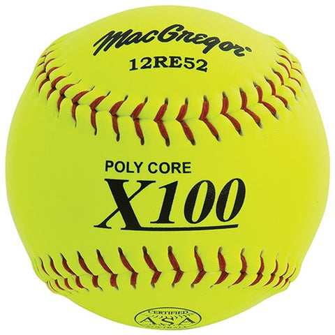 MacGregor Slow Pitch Softballs (12-pack)