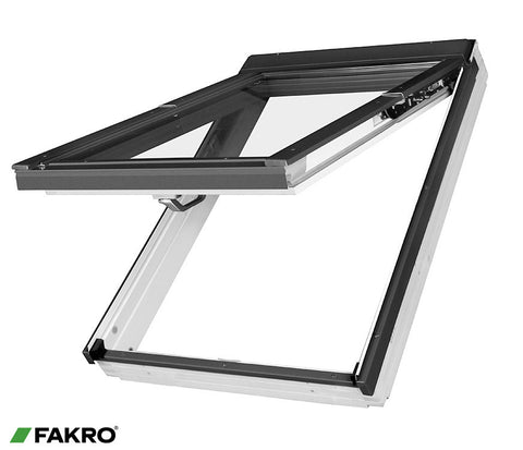 FPU-V P2 White Polyurethane Coated Roof Window 55x98