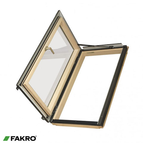 FWL P2 Natural Pine Side Hung Escape Window 66x98