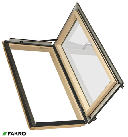 FWR P2, Natural Pine Side Hung Escape Window 66x78