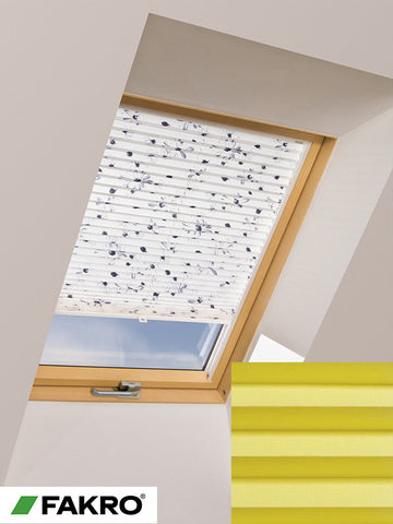 APS Colour Group I Manual Standard Pleated Blind in 653 55x78