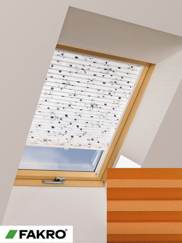 APS Colour Group I Manual Standard Pleated Blind in 654 55x78