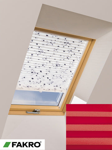 APS Colour Group I Manual Standard Pleated Blind in 655 55x78