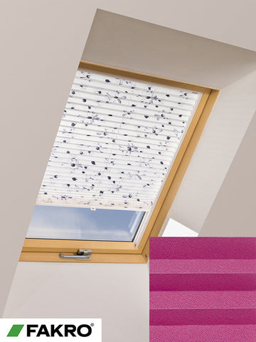 APS Colour Group I Manual Standard Pleated Blind in 656 55x78