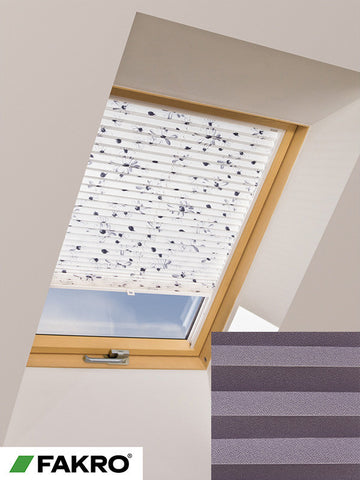 APS Colour Group I Manual Standard Pleated Blind in 657 55x78
