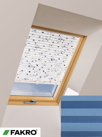 APS Colour Group I Manual Standard Pleated Blind in 658 55x78