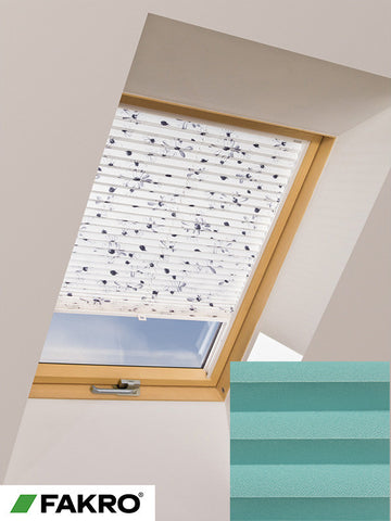 APS Colour Group I Manual Standard Pleated Blind in 659 55x78