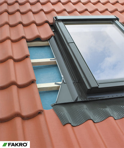 ESW Flat Roof Covering Flashing (Such as Bitumen Shingles Etc. on a pitched roof) for Side Hung Escape Windows 94x98