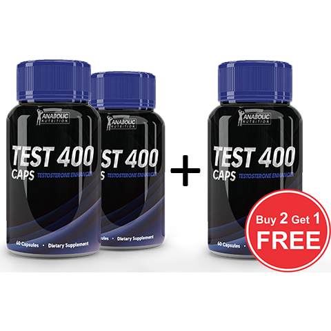 Test 400-Caps Buy 2 Get 1 Free