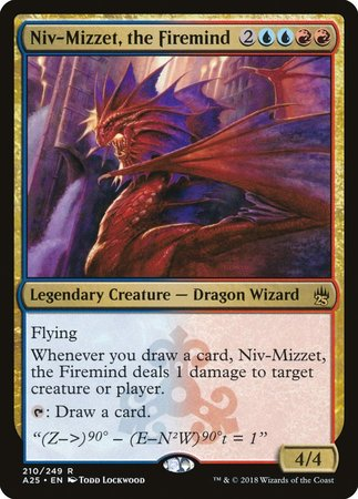 Niv-Mizzet, the Firemind [Masters 25] | By The Board Games & Entertainment