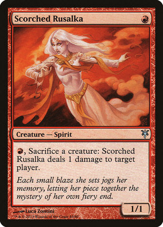 Scorched Rusalka [Duel Decks: Sorin vs. Tibalt] | By The Board Games & Entertainment