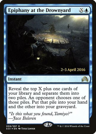 Epiphany at the Drownyard [Shadows over Innistrad Promos] | By The Board Games & Entertainment