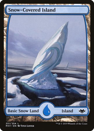 Snow-Covered Island [Modern Horizons] | By The Board Games & Entertainment