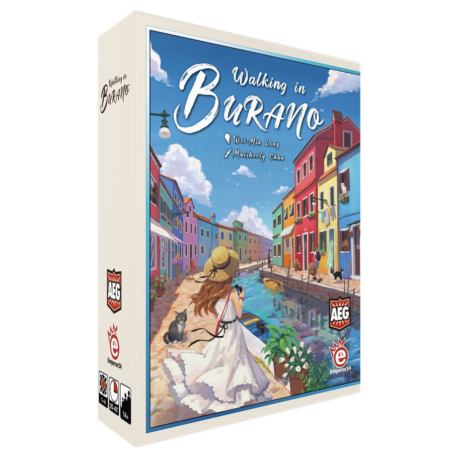 Walking In Burano | By The Board Games & Entertainment