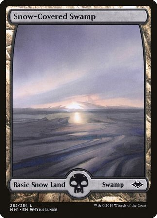 Snow-Covered Swamp [Modern Horizons] | By The Board Games & Entertainment