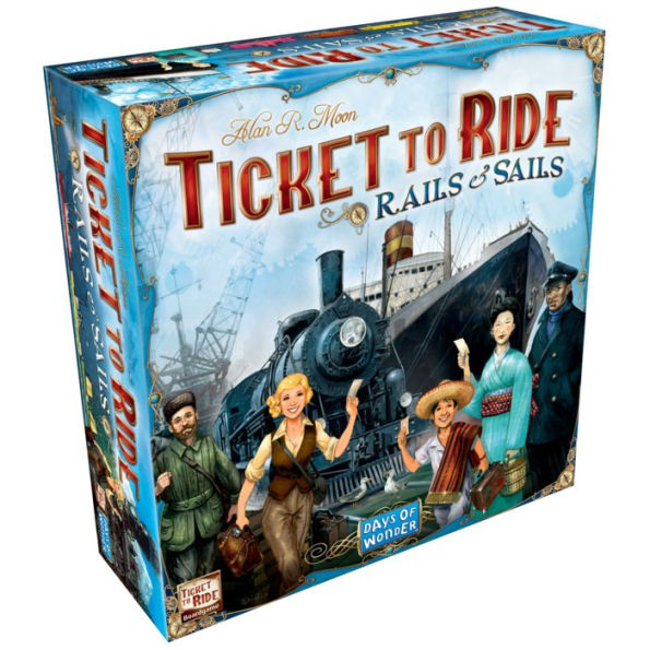 Ticket To Ride: Rails and Sails | By The Board Games & Entertainment