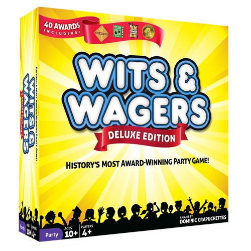 Wits & Wagers: Deluxe Edition | By The Board Games & Entertainment