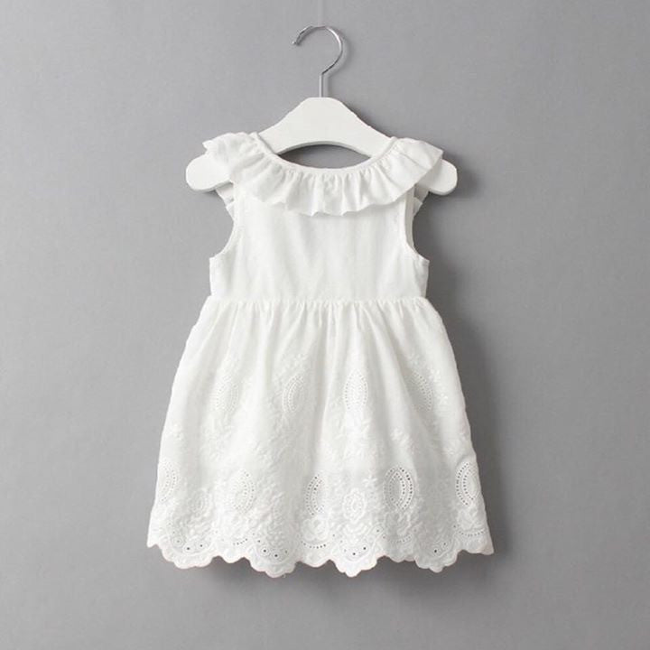 Imperfect-Cotton Toddler Sleeveless Dress