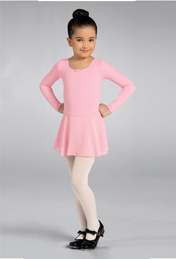 Kids Classic Dress With Skirt