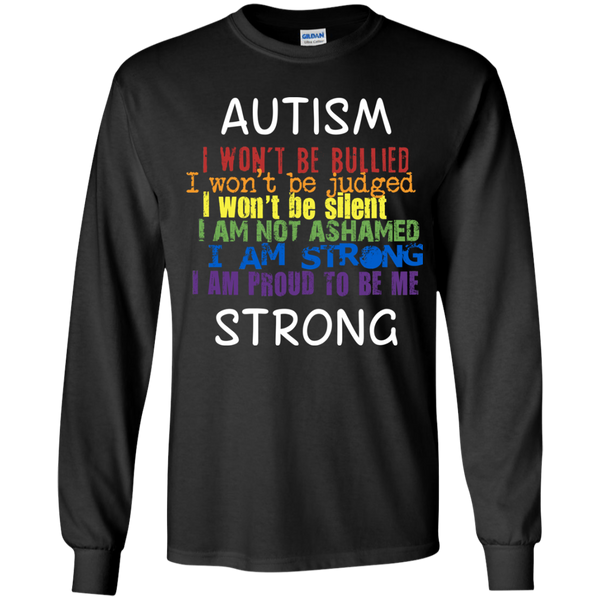 Autism Strong - I Won't Be Bullied - Youth