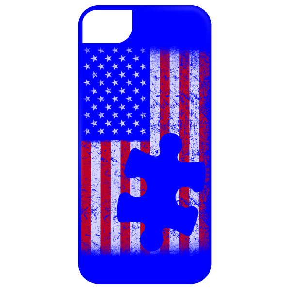 Autism American Flag iPhone 5, 6 and 6 Plus Cases